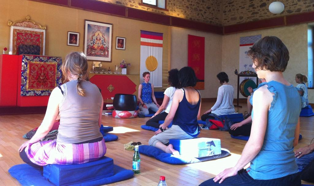 Essay about yoga and meditation